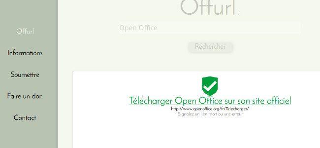 Trouver le site officiel d'un logiciel ?