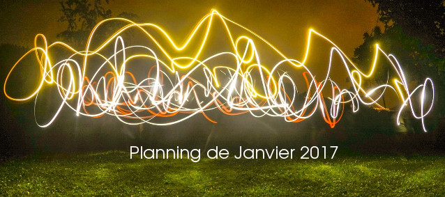 Planning de Janvier 2017
