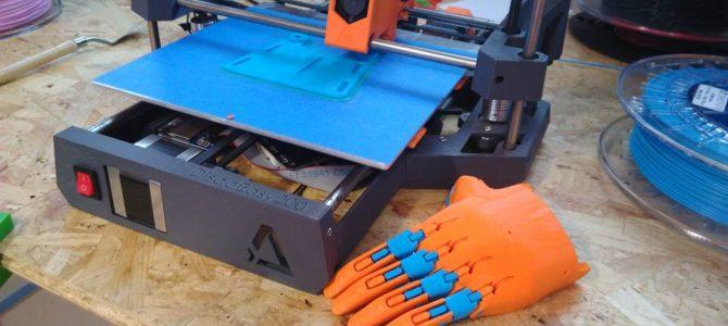 Une prothèse de main imprimée en 3D
